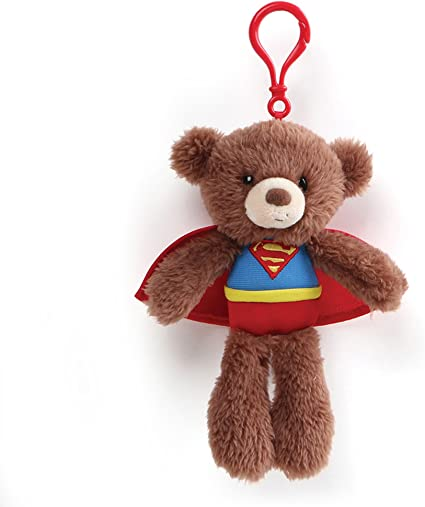 DC Super Friends Free Shipping! Gund Fuzzy Bear Wonderwoman