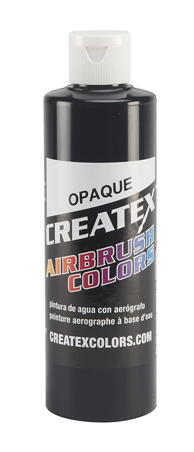 Amazon.com: Createx Colors Paint for Airbrush, 8 oz, Opaque Black ...