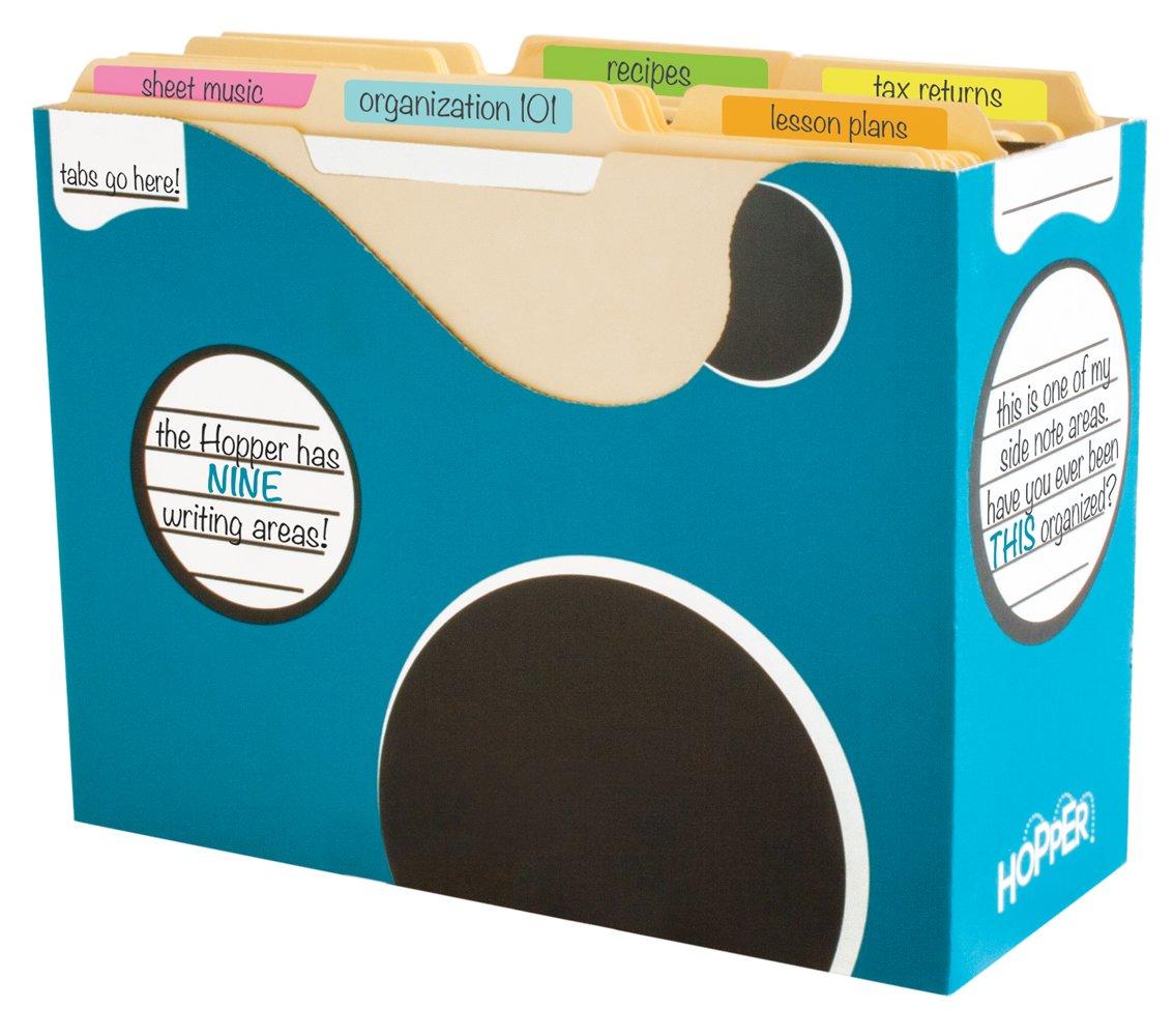Boxa Hopper   File Sorter Bin, 3 per Pack (4-HR30-0-BB-03)
