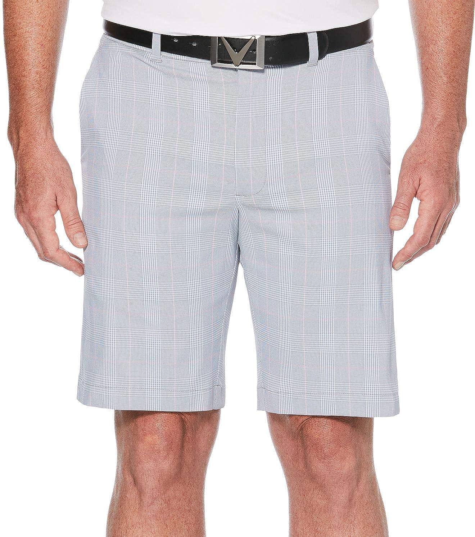 [キャラウェイ] メンズ ハーフ&ショーツ Callaway Men's Glen Plaid Golf Shorts - [並行輸入品] 46B  B07TF557KD