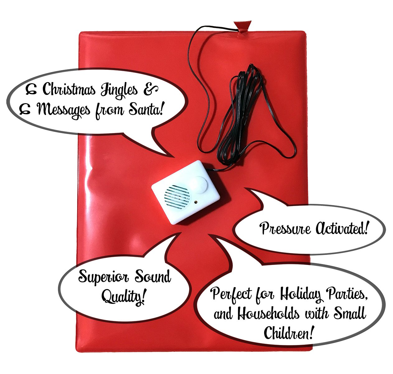 Amazon.com: Magical Christmas Doormat -12 Sounds of Christmas With ...