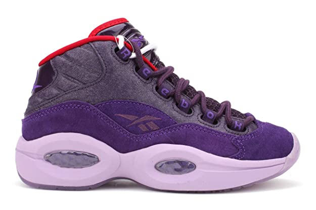 Reebok Question Mid - Zapatos de Baloncesto Morado de Tinta ...