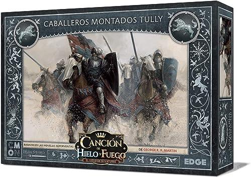 Edge Entertainment- Cancion de Fuego y Hielo el Juego de Miniaturas - Caballeros Montados Tully, Color (EECMSI18): Amazon.es: Juguetes y juegos