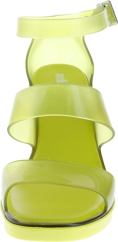 melissa - Talon d\'annonce modèle pour Femmes Jaune Vert Citron