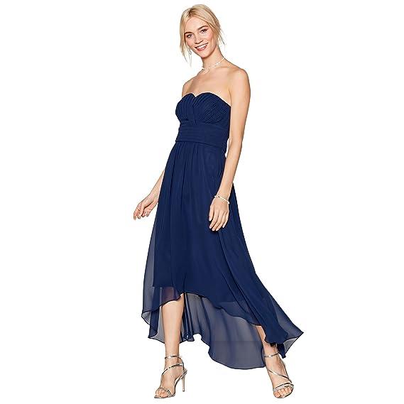 Debut Womens Navy Chiffon \'Sara\' High Low Bridesmaid Dress: Debut ...