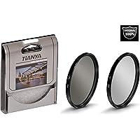 AZT Canon 18-55mm Lens için 58mm Slim MC Uv + Cpl Circular Polarize Filtre