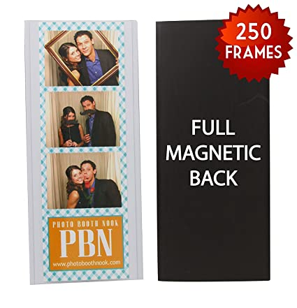 Amazoncom 250 Magnetic Photo Booth Frames For 2 X 6 Photo