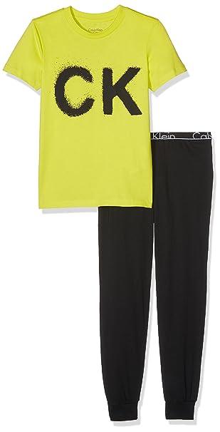 Calvin Klein CK ID Knit PJ Set (s/s+Pant), Pijama