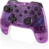 Nyko Wireless Core Controller - Bluetooth Pro Controller Alternative with Turbo and Android/PC Compatibility for Nintendo Switch - Purple/White