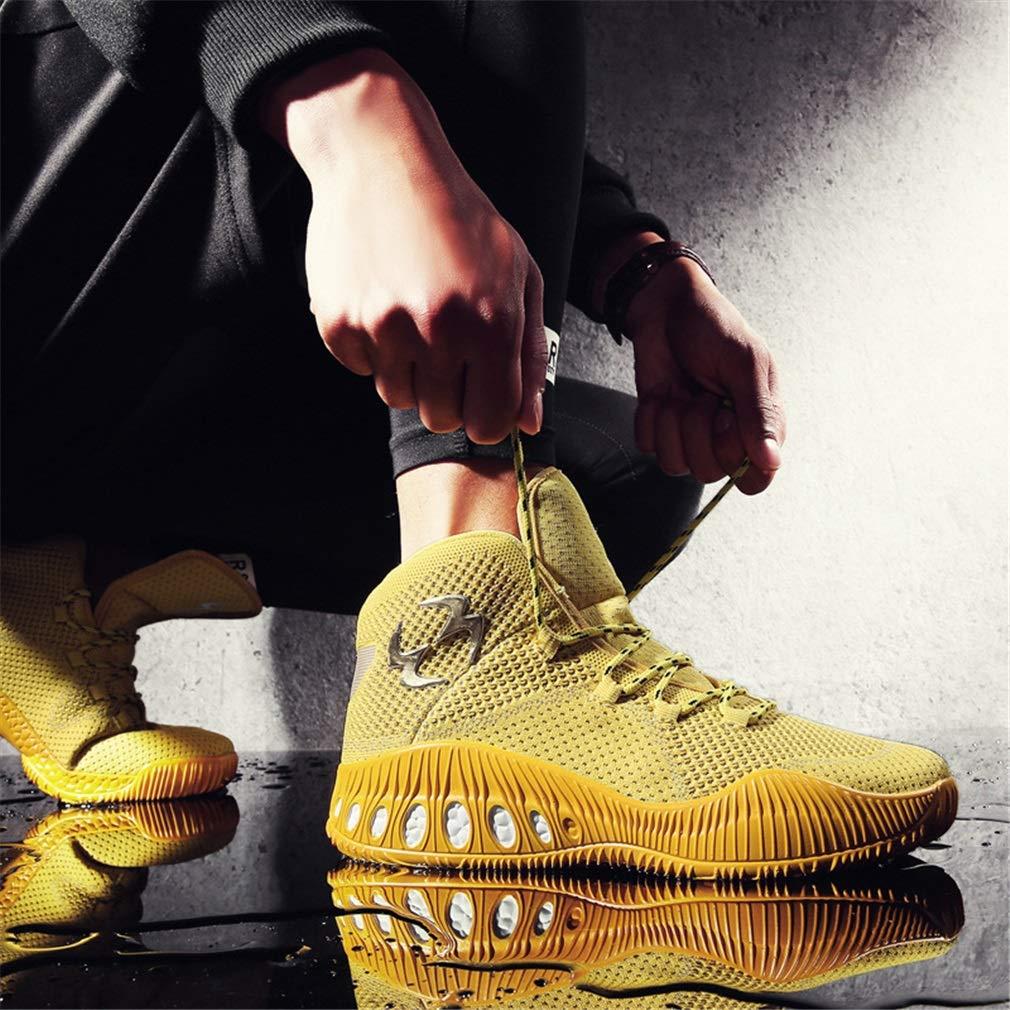 YAN Scarpe da ginnastica in mesh da uomo uomo uomo Novità Scarpe da allenamento Slip On Fitness e Cross Training Outdoor Scarpe da corsa sportive da atletica sportiva (Coloreee   Giallo, Dimensione   39) | Elegante e divertente  | Vendita Calda  | Nuovo Ar 206c57