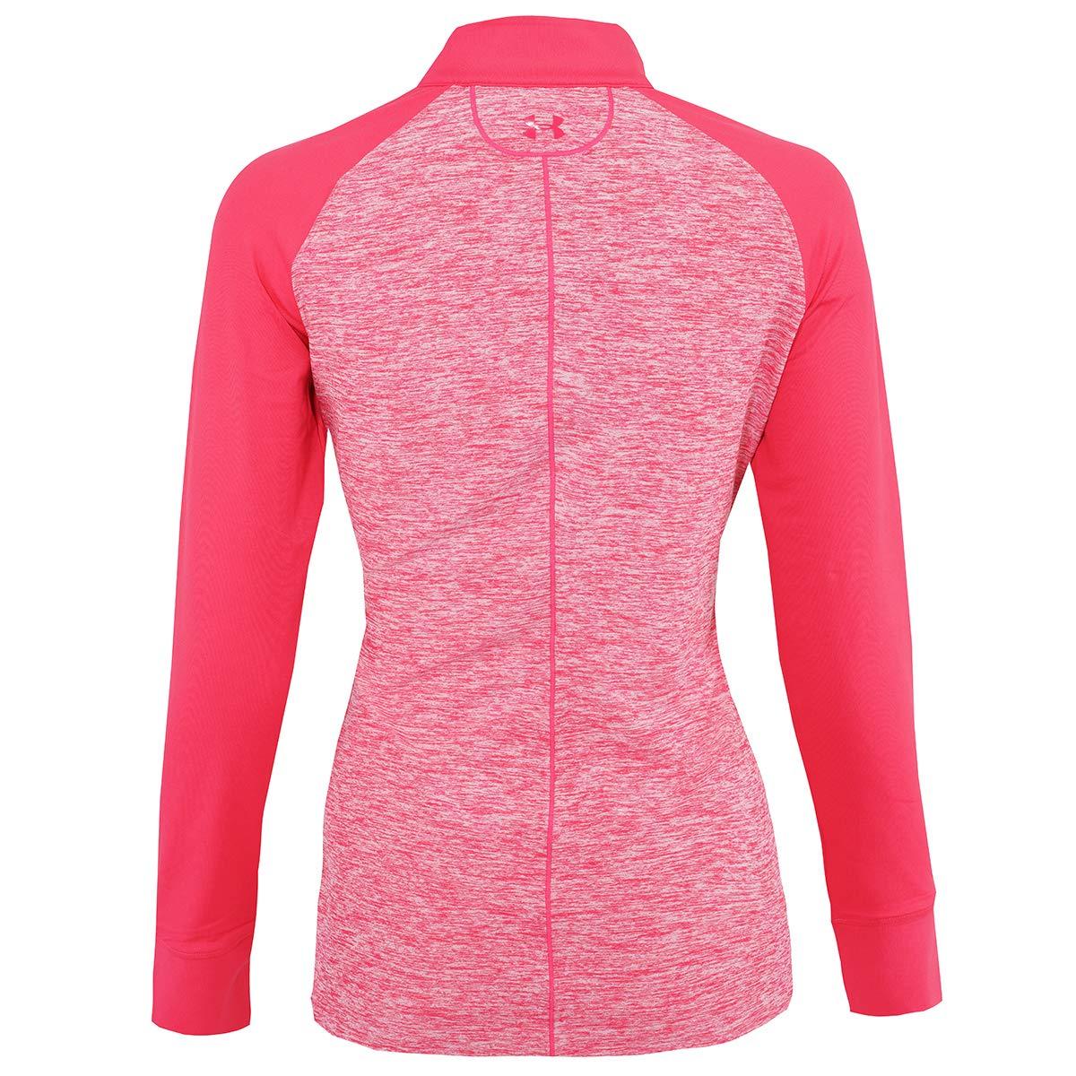 8d5345d945 Amazon.com : Under Armour Women's Zinger Twist 1/4 Zip Pullover ...