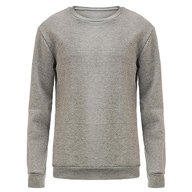 f48d0f63caa2 YYF Unisex Couple Velvet Inside Pullover Hoodies Long Sleeve Cute  Turtleneck Sweater  Amazon.co.uk  Clothing