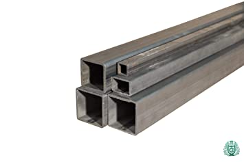 6 Meter Vierkantrohr Quadratrohr Stahl Profilrohr Stahlrohr 30x30x2 mm Metall