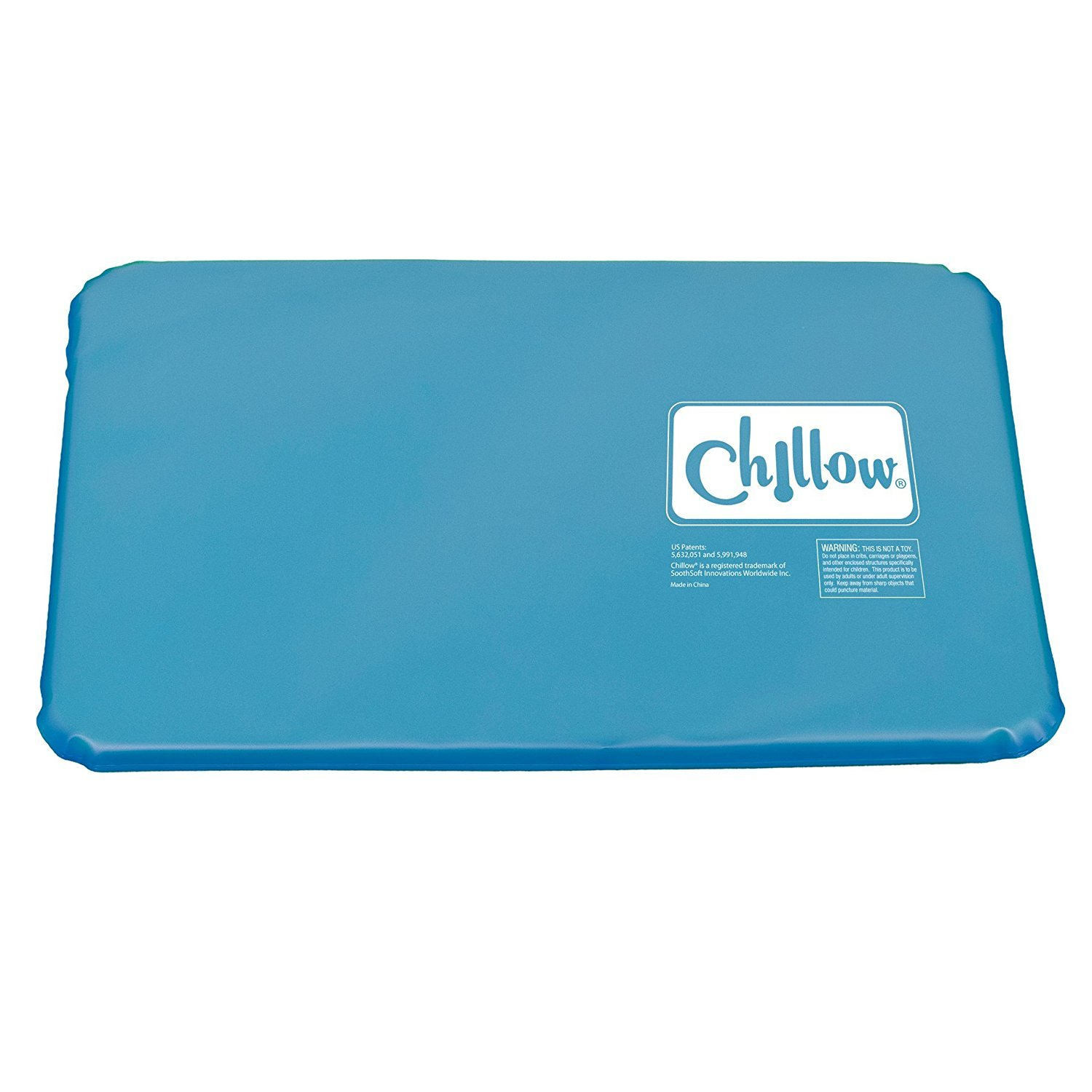 Tiangtech Chillow Multi Functional Water Pillow Massage Mat Cooling Pillow Pad Reduces Hot Flashes, Neck Pain, Fevers and More