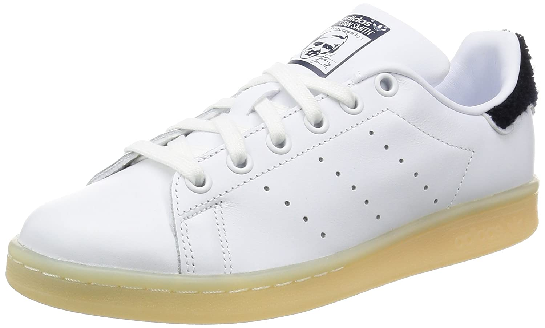 adidas Damen Stan Smith W Sneaker  38 2/3 EU|Elfenbein (Ftwwht/Ftwwht/Conavy)