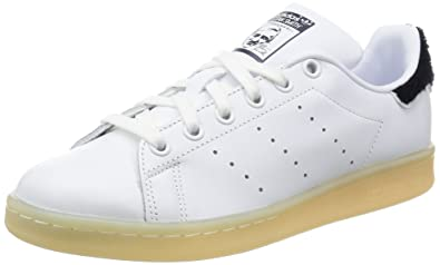 grossiste 06eb6 a8561 hot adidas stan smith femmes noir and blanc 99735 1d671