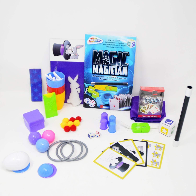 DRULINE Kinder Zaubertrick-Set 145 unglaubliche Tricks