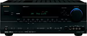 Onkyo TX-SR604 7.1 Channel A/V Receiver (Black) (Discontinued by Manufacturer)
