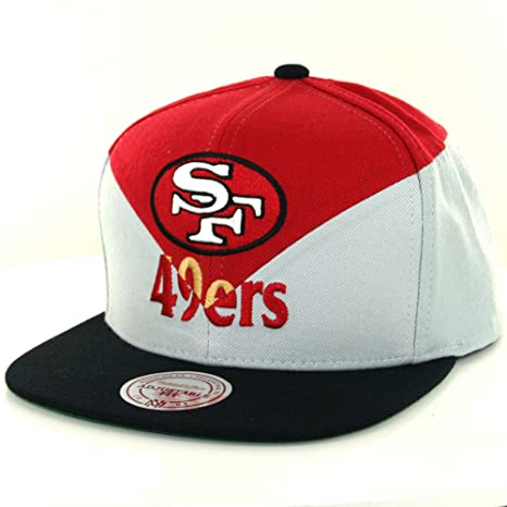 Image Unavailable. Image not available for. Color  Mitchell   Ness San  Francisco 49ers Amplify Diamond Snapback 7fc44544752d