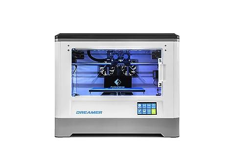 Impresora Flashforge® Dreamer Impresora 3D Dual-extrusora con Clear Puerta y aficionados traseras