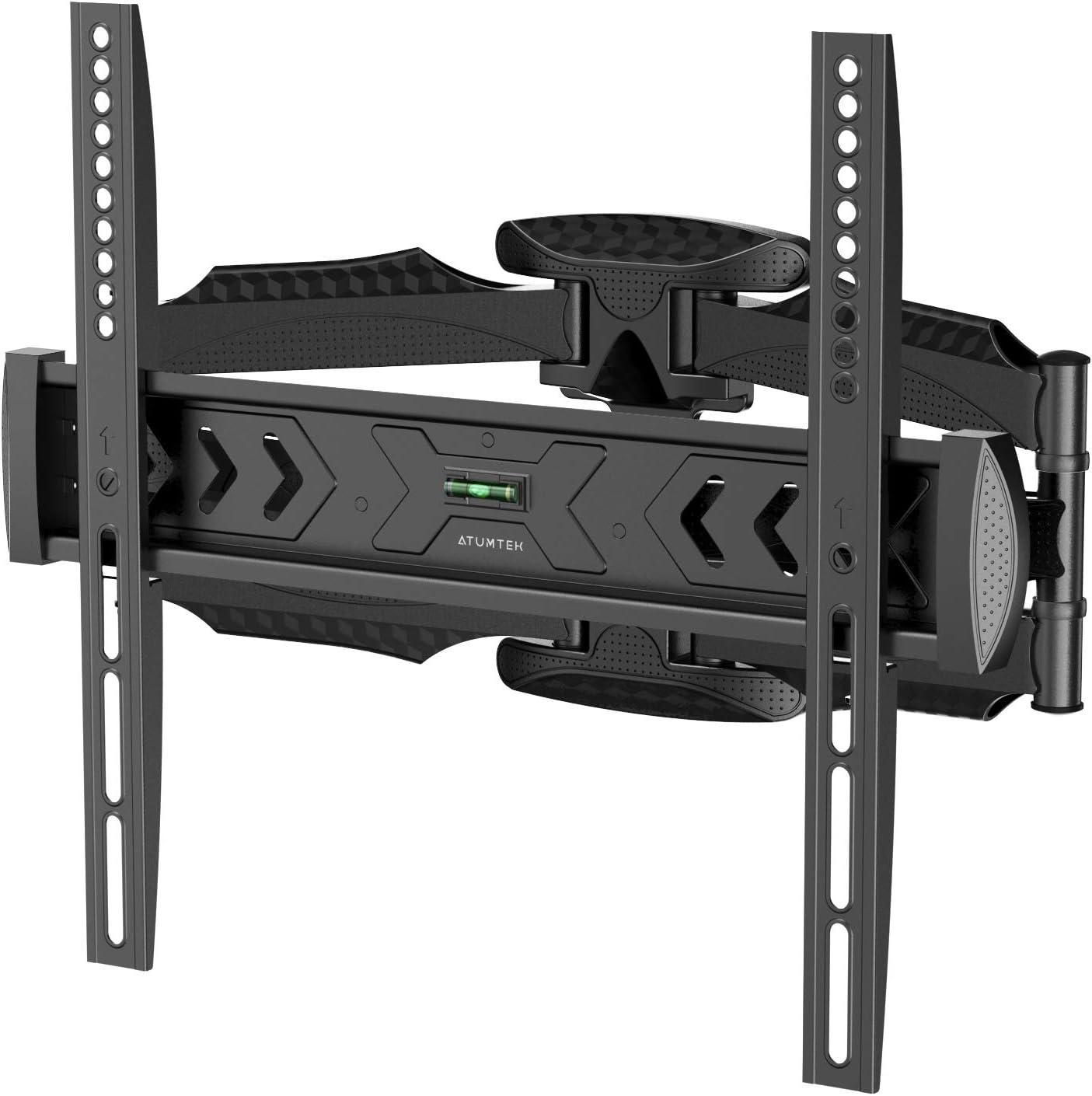 ATUMTEK Soporte TV de Pared para de 23-55 Pantalla LED/LCD/Plasma/Curva Televisión, Articulado Inclinable y Giratorio Montaje TV Pared Carga Máxima 36.4kg VESA Máxima 400×400mm
