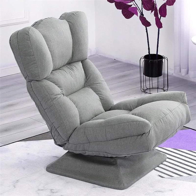 WANZSC Sillón reclinable giratorio para tumbona, sillón reclinable para fiestas familiares (gris)