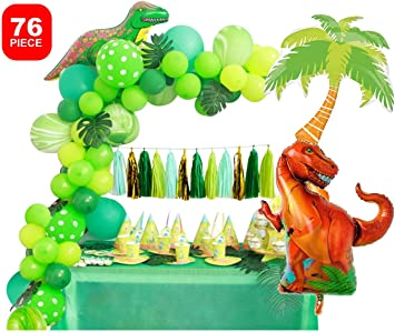 Dinosaur Theme Balloon Tyrannosaurus Children/'s Theme Baby PARTY Birthday Happy