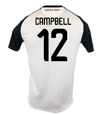 49d7054eb47 New Balance Campbell  12 Costa Rica Away Soccer Men s Jersey FIFA World Cup  Russia 2018