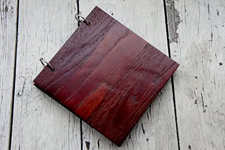 amazon com wood rustic journal refillable travel notebooks