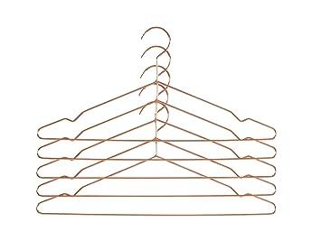 Amazon De Hay Hang Kleiderbugel 5er Set Kupfer 5 Stuck