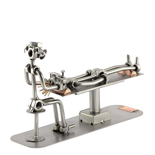 Steelman24 I Dentista con Grabado Personal I Made in Germany I Idea para Regalo