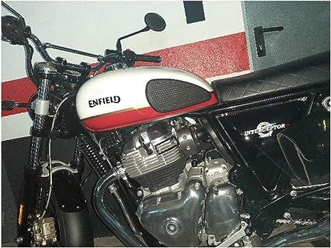 Domilay/Adesivo Antiscivolo per Serbatoio Moto Protettore Moto Antiscivolo Ginocchiera Adesivo Laterale per Honda CB500X CB500F CB500R
