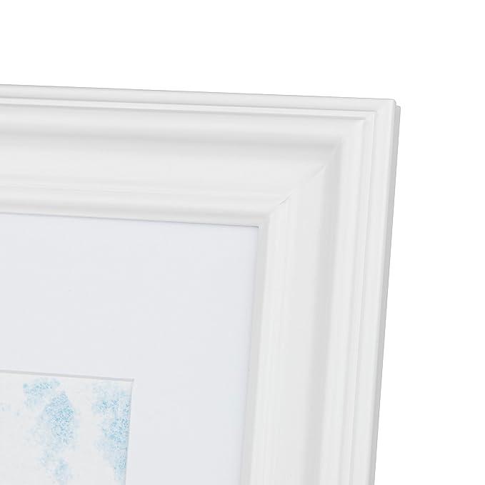 ff8bdce3b27 Kenro Ravello Series Black Wood A2   42x59.4cm Photo Frame with White Mat  for 12x18 inch   30x46cm Photo - RL3046B  Amazon.co.uk  Kitchen   Home
