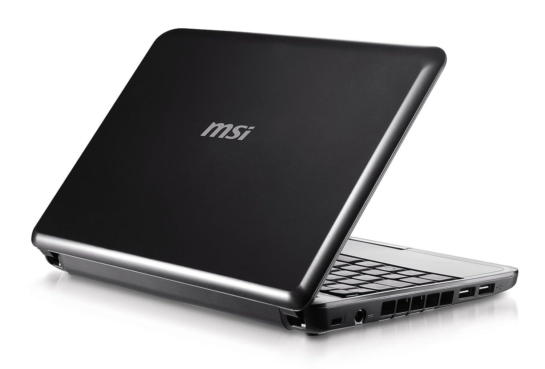 "Amazon.com: MSI Wind 10"" Mini Laptop (1.6 GHz Intel Atom Processor, 1 GB  RAM, 80 GB Hard Drive, XP Home, 3 Cell Battery) Black: Computers &  Accessories"
