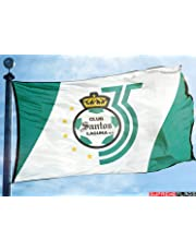 Santos Laguna Flag Banner (90 x 150 cm) Torreon Mexico Futbol Soccer Bandera 35 Años 6