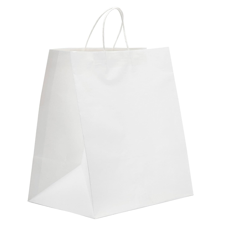 Amazon.com: 200Bolsas de papel de regalo Kraft bolsa ...