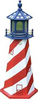 product image for 4 Ft Deluxe LighthousesReplicated USA Lighthouses - Patriotic, USA