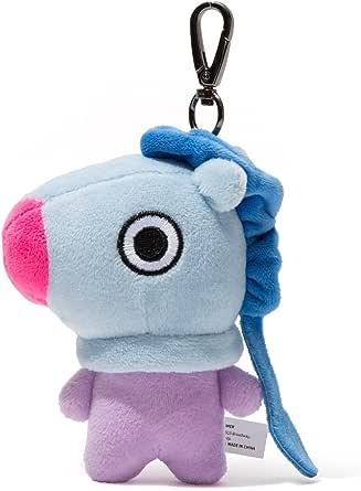 BT21 Character Soft Plush Stuffed Animal Keychain Key Ring Bag Charm, 12 cm
