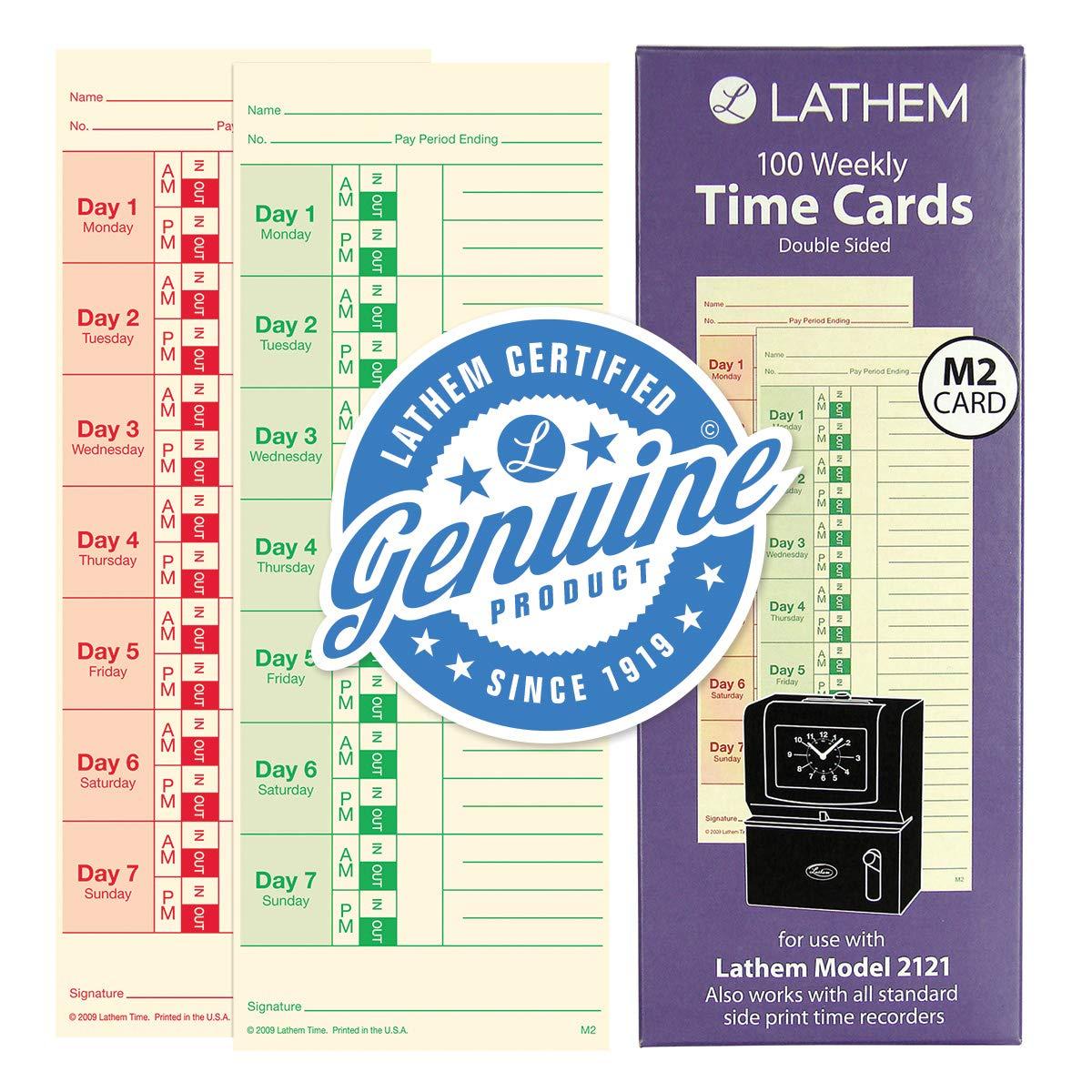 LTHM2100 Universal Time Card