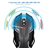 Gaming Mouse, LDesign 3200DPI Wired Gamer Mice