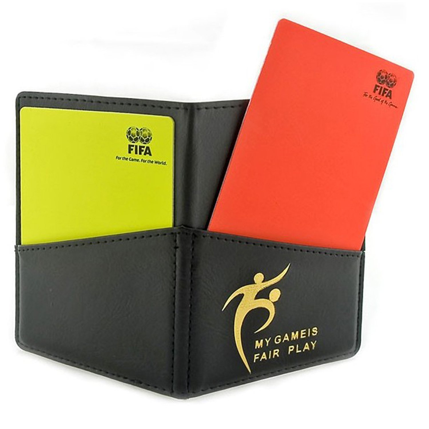 Referee Notebook Card set Holder with Wallet by No1GadgetTore