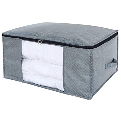 Lifewit Large Clothes Storage Bag Comforters, Blankets, Bedding, Pillow,  Breathable Foldable Closet