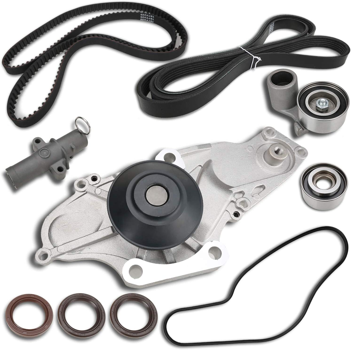 Replacement Parts MITZONE Timing Belt Kit with Water Pump ...