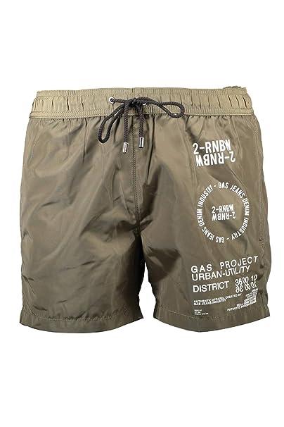 negozio online 7e3e2 b5139 Gas GABC02CARGO AB20 Costume Parte sotto Uomo Verde Kaki XL ...