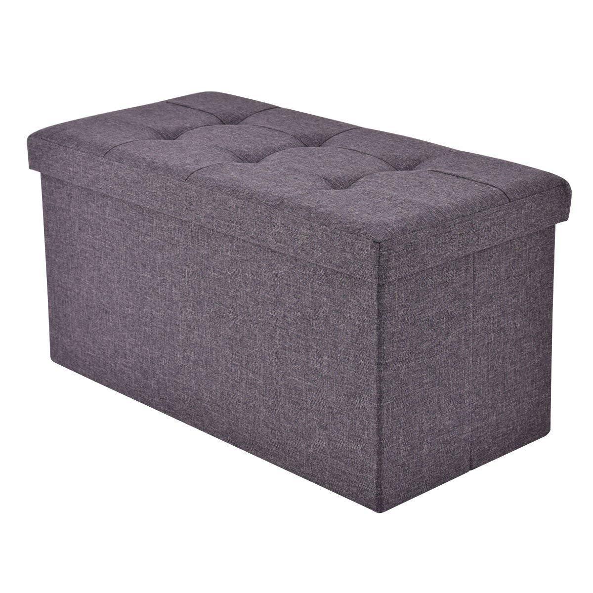 Awesome Amazon Com Allgoodsdelight365 Folding Rect Ottoman Bench Inzonedesignstudio Interior Chair Design Inzonedesignstudiocom