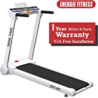 Energie Fitness Imported EHT 001 Home use 1.25 HP (2.50 HP at Peak) Motorized Treadmill with 1 LCD Monitor, 1 Year Warranty