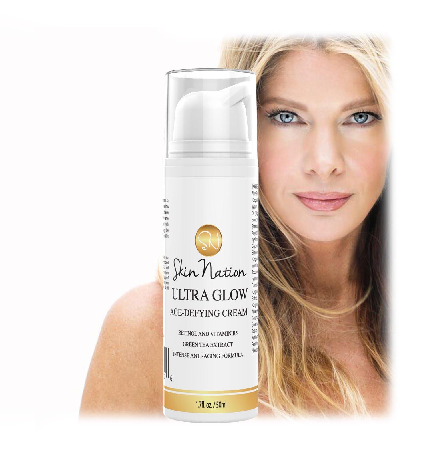 Amazon.com: Face Cream Daily Moisturizer - Anti Aging