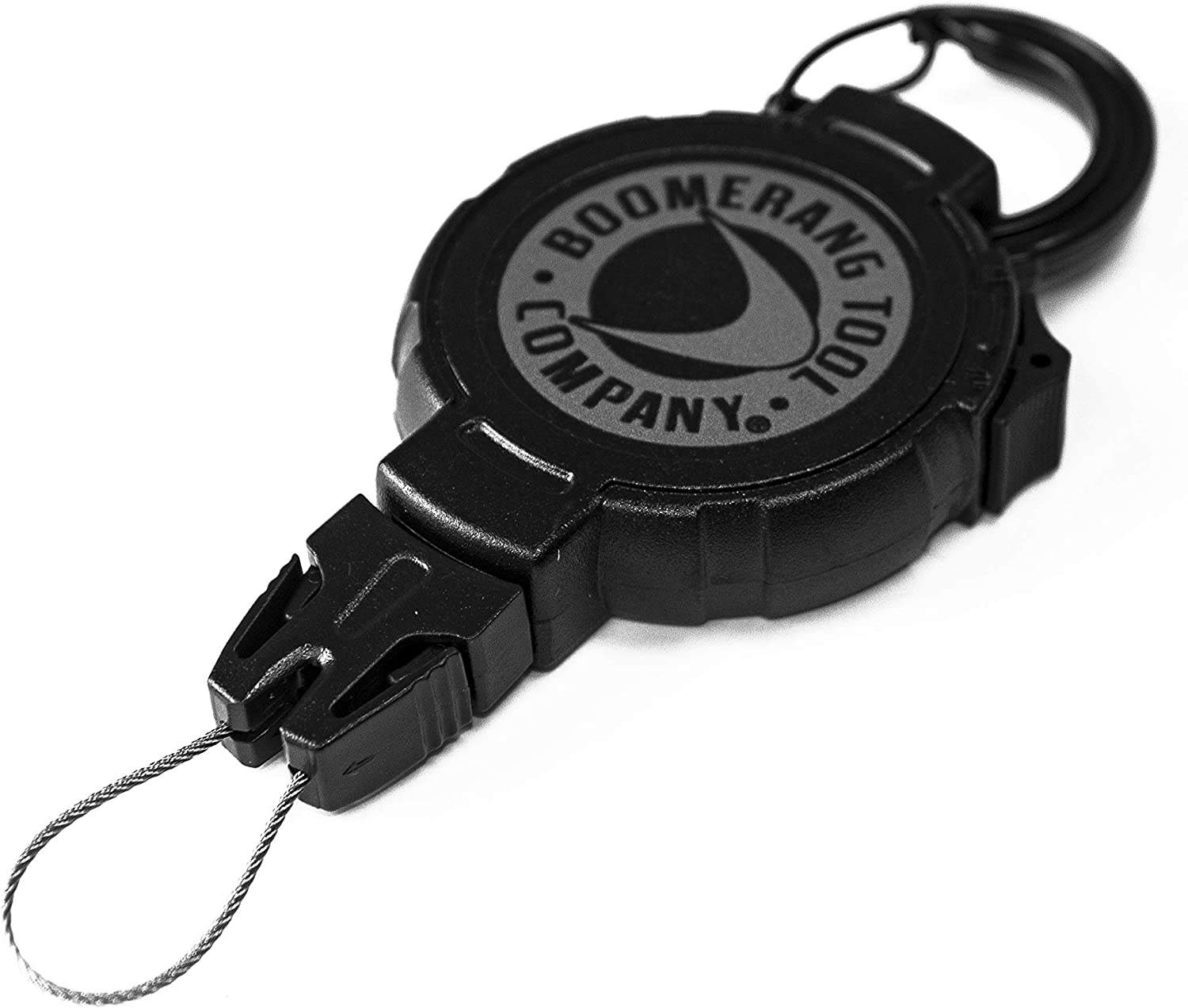 Made in The USA Boomerang Scuba Diving Retractable Gear Tethers with a Kevlar Cord and Universal End Fitting Great for Scuba Diving Gauges Flashlights Cameras and More