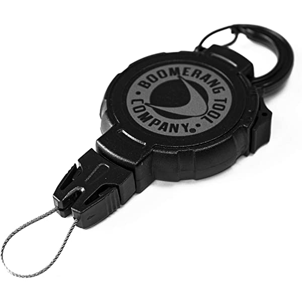 T-REIGN Retractable Gear Tether Hunting End Fitting Accessory P.. Free Shipping