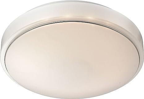 LED Deckenleuchte 230V Inkl Akku Aus Acryl Weiss Badezimmer Flur Wohnzimmer Lampen Leuchte